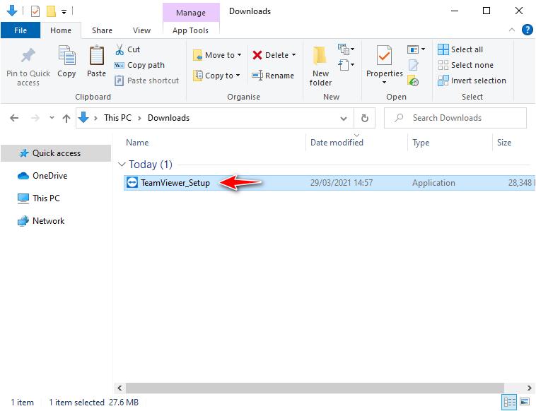 Hướng dẫn cài đặt phần mềm Teamviewer 2