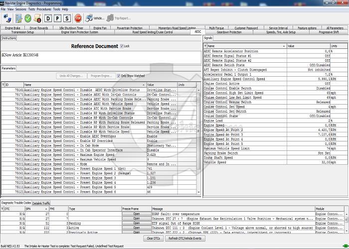 Navistar Engine Diagnostic Software