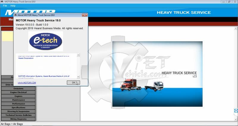 motor heavy truck service v19 keygen