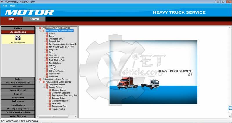 motor heavy truck wiring diagram