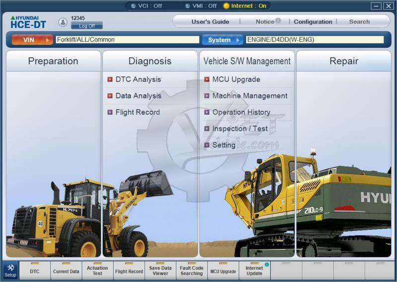 Hyundai HCE-DT Master Diagnostic