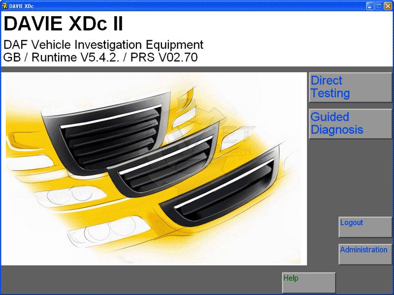 DAF Davie XDc II Runtime