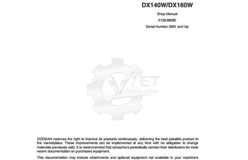 Doosan DX140 2006-2009