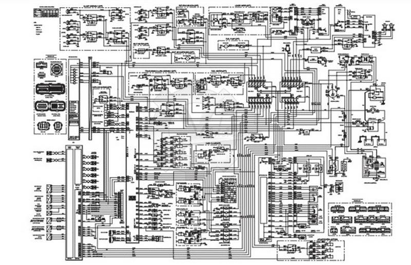 Electrical Diagram of Doosan DX140W