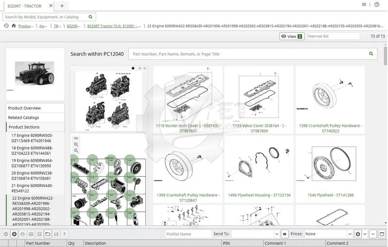 John Deere - EPC-Electronic Parts Catalog